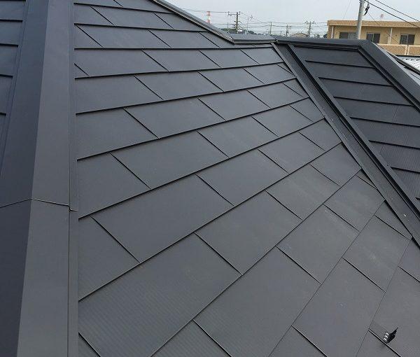 岡山県高梁市 屋根塗装 高圧洗浄 ケレン作業 日本ペイント 遮熱塗料 サーモアイ
