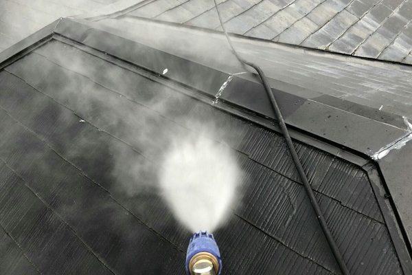 岡山県倉敷市 屋根塗装 外壁塗装 高圧洗浄 養生