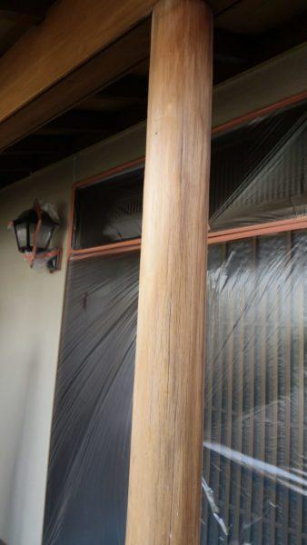 岡山県倉敷市 外壁塗装 木部補修〜塗装 木部の画像
