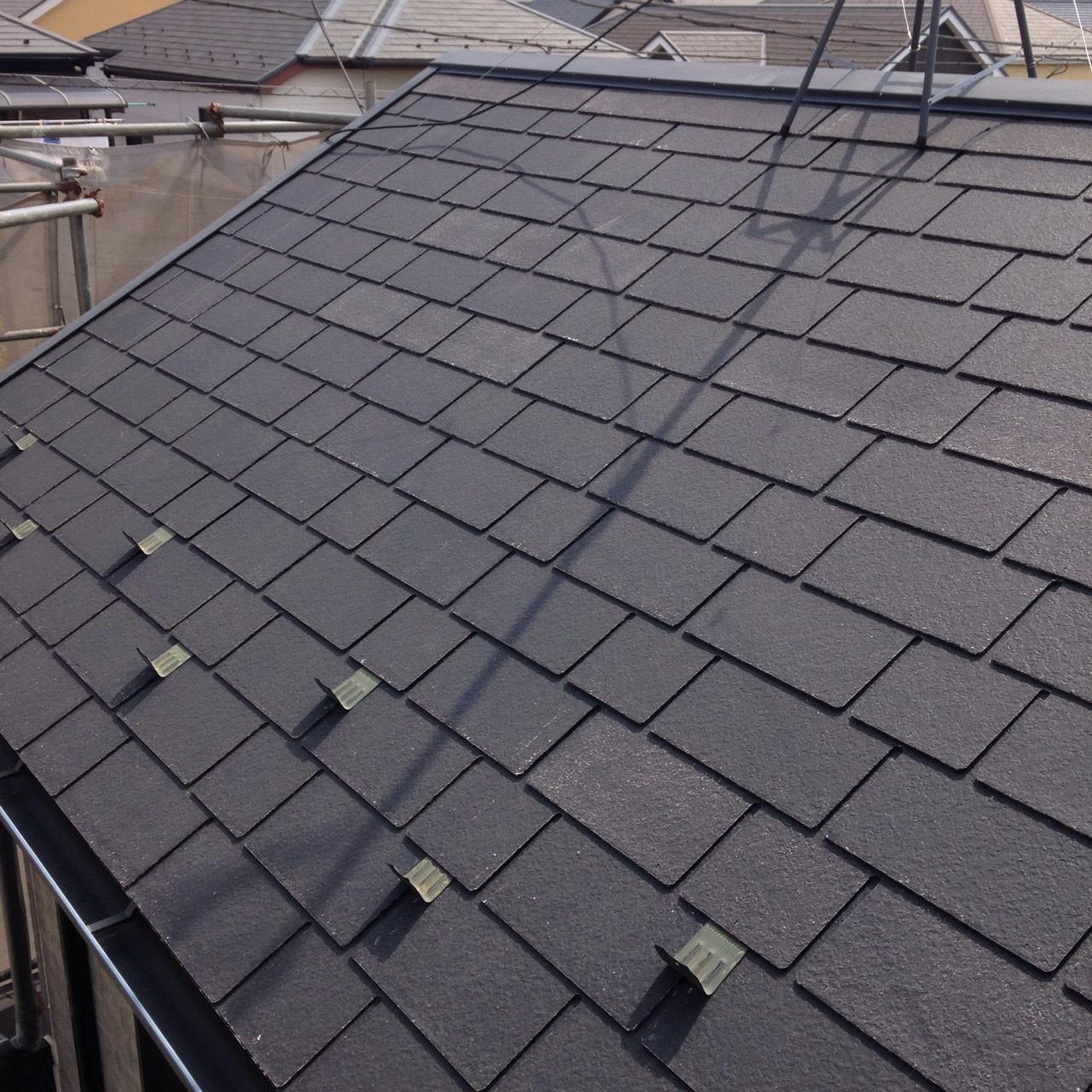 岡山県倉敷市 屋根の写真