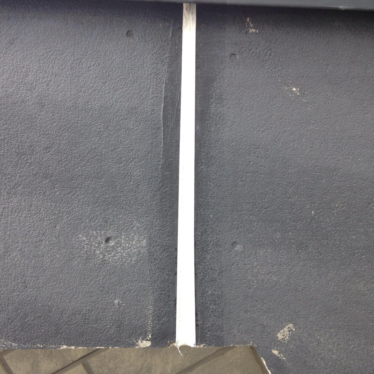 岡山県倉敷市屋根工事 破風板目地補修の画像