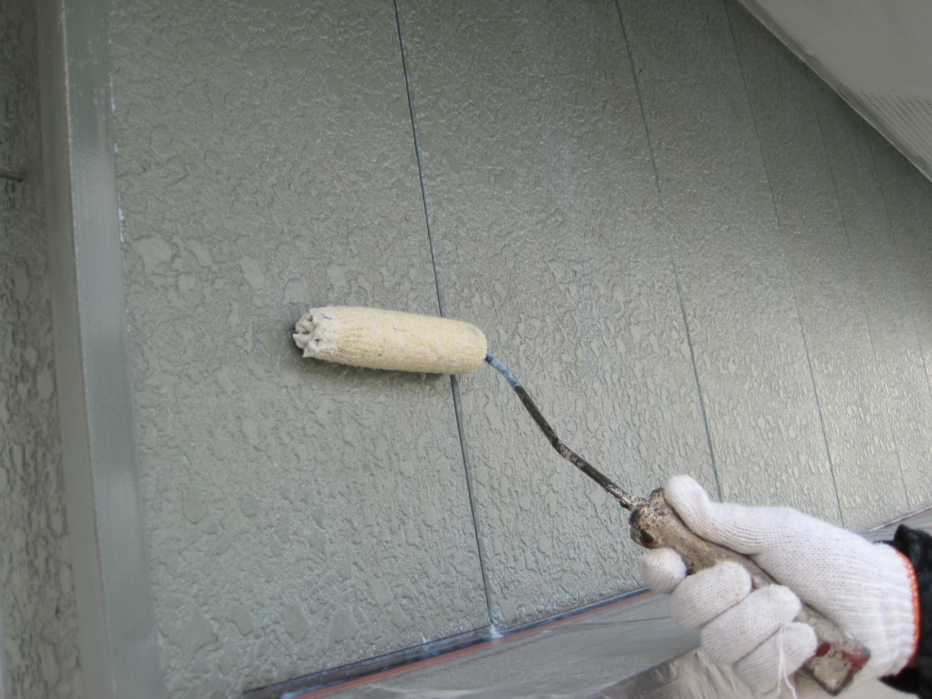 岡山県岡山市塗装工事下塗りの画像